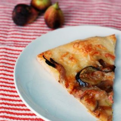Fig, Red Onion and Pancetta Pizza