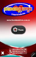 Screenshot of Cidade Livre FM