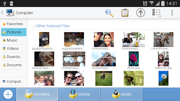 Screenshot of Computer File Explorer