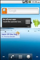 Screenshot of Saint of the Day