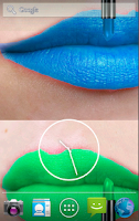 Screenshot of Lipstick Live Wallpaper