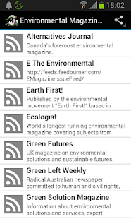 Environmental Magazines - screenshot