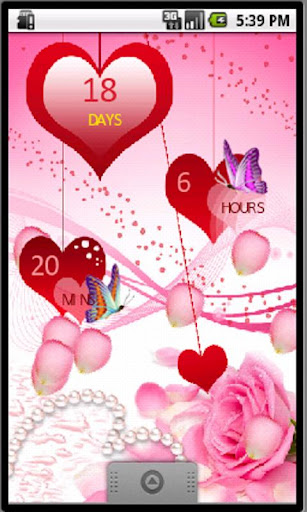 My Count Time to Valentine LWP