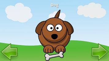 Screenshot of Learning Animals