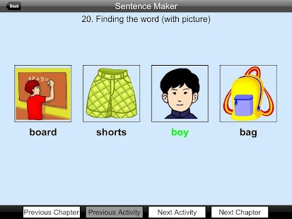 Vocab sentence maker