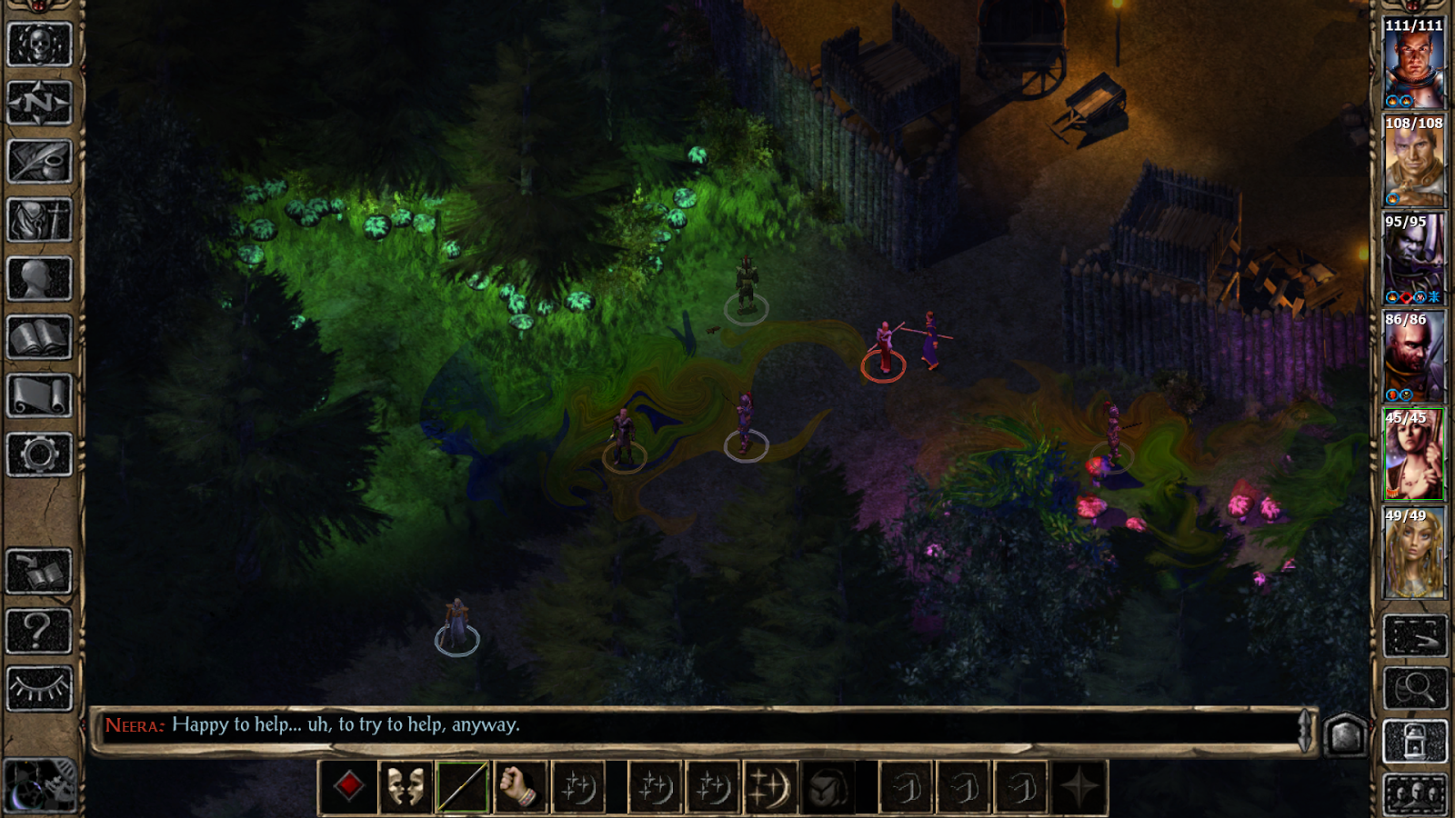 Baldur's Gate II Screenshot 1