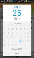 Screenshot of FINARX Timesheet Time tracking
