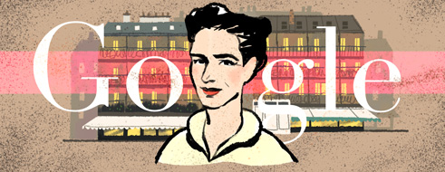 Simone de Beauvoir's 106th Birthday