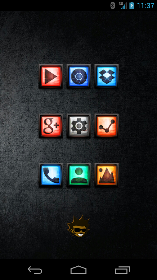 Tha Outatime - Icon Pack Screenshot 0