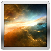 Space Battery Indicator HD LWP APK for Bluestacks
