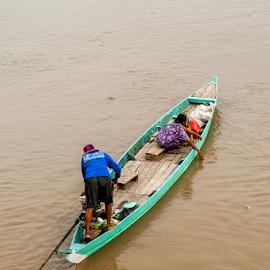 crossing by Kawan Santoso - Transportation Boats