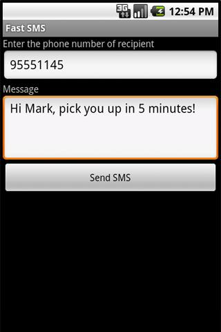Fast SMS