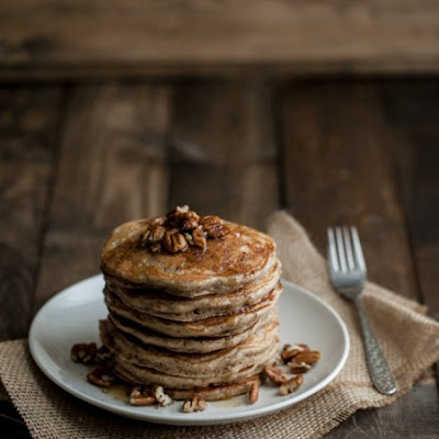 Brown Butter and Pecan Pancakes