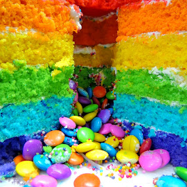 color and happiness by Simile Shaunak - Food & Drink Cooking & Baking ( birthday, cake )