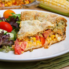 Corn and Tomato Pie
