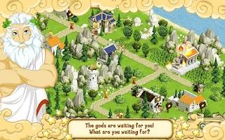Screenshot of Land of Gods