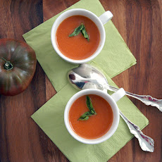 CREAMLESS CREAM OF TOMATO SOUP
