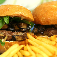 Balsamic Portobello Turkey Sliders