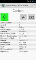Screenshot of Elementary (Periodic Table)