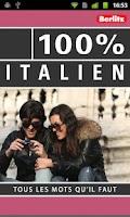 Screenshot of 100% ITALIEN