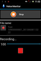 Screenshot of Voice Monitor