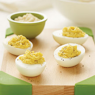 Hummus Deviled Eggs