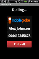 Screenshot of MobileGlobe