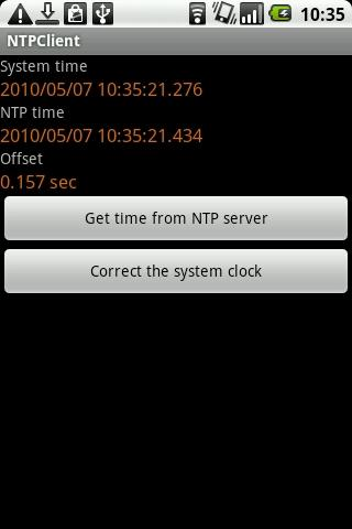 NTP Client [root only]