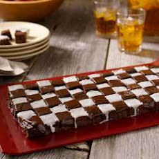 Checkered Flag Fudgy Bites