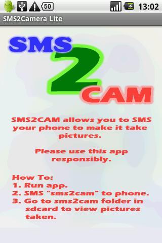 SMS2Camera Lite
