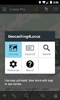 Screenshot of Geocaching4Locus