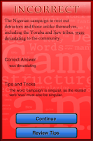 Screenshot of Virtual SAT Tutor - Writing