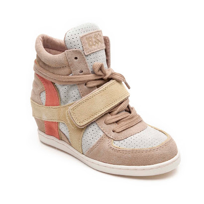 Ash Bang Wedge High Top TRAINERS