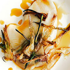 Sole Fillets with Spring Onion