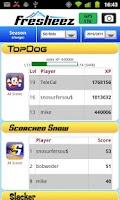Screenshot of Fresheez Tracking & Gaming