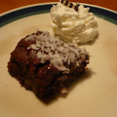 Gluten-Free Tropical Brownies