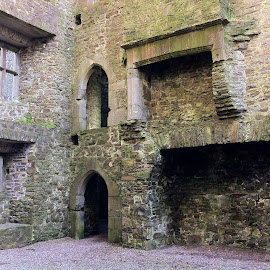 Interior of Kanturk Castle by Julie Kendall - Instagram & Mobile iPhone ( history, cork, kanturk castle, ireland, ruin )