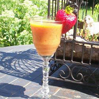 Basil Strawberry Mango Smoothie
