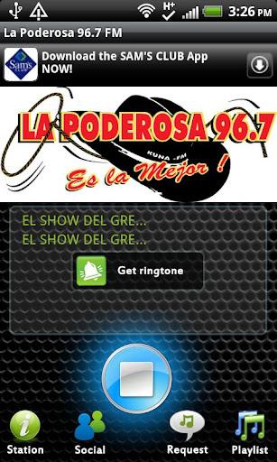La Poderosa 96.7 FM