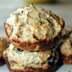 Peanut Butter and Banana Oatmeal Muffins