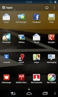 Screenshot of 360 Launcher Sense Theme