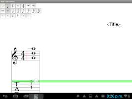 Screenshot of Midi instruments lite Composer