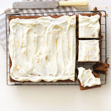 Lighter Spiced Carrot Cake
