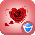 AppLock Theme - Love Roses APK for Bluestacks
