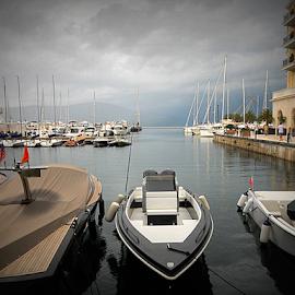 Porto Montenegro by Verica Pavlovic - Transportation Boats