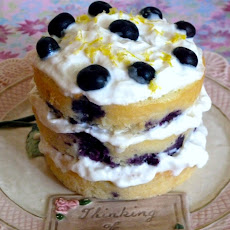Lemon Blueberry Cake and Birthdays