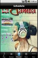 Screenshot of La Bamba Radio
