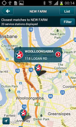 Caltex Australia Site Locator
