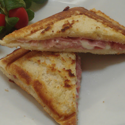 Grilled Ham and Cheese Sandwich My Way