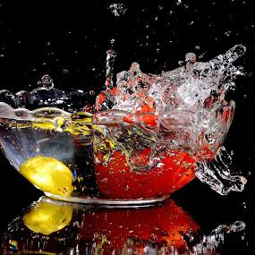 Lemon+Tomato by Sarath Sankar - Food & Drink Fruits & Vegetables (  )
